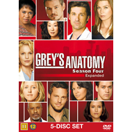 Grey's Anatomy - Sesong 4 (UK-import) (DVD)