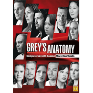 Grey's Anatomy - Sesong 7 (DK-import) (DVD)