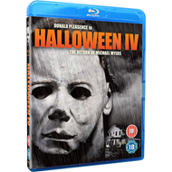 Halloween 4 - The Return Of Michael Myers (UK-import) (BLU-RAY)