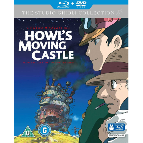 Howl's Moving Castle (UK-import) (Blu-ray + DVD)