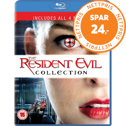 The Resident Evil Collection (UK-import) (BLU-RAY)
