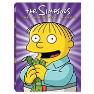The Simpsons - Sesong 13 (UK-import) (DVD)