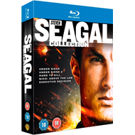 Steven Seagal Collection (UK-import) (BLU-RAY)