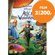 Produktbilde for Alice I Eventyrland (DVD)