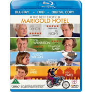 The Best Exotic Marigold Hotel (Blu-ray + DVD)