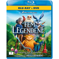 De Fem Legendene (Blu-ray + DVD)