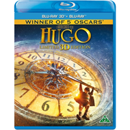 Produktbilde for Hugo (Blu-ray 3D + Blu-ray)