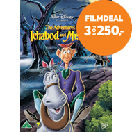 Produktbilde for The Adventures Of Ichabod And Mr. Toad (DVD)