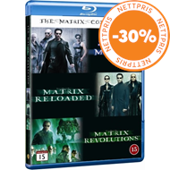 Produktbilde for The Matrix Collection (BLU-RAY)