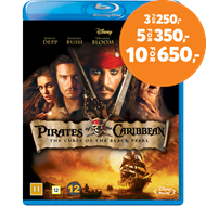 Produktbilde for Pirates Of The Caribbean - The Curse Of The Black Pearl (BLU-RAY)