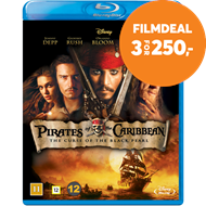 Produktbilde for Pirates Of The Caribbean 1 - The Curse Of The Black Pearl (BLU-RAY)