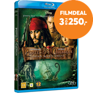 Produktbilde for Pirates Of The Caribbean 2 - Dead Man's Chest (BLU-RAY)