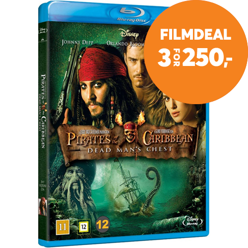 Pirates Of The Caribbean - Dead Man's Chest (BLU-RAY)