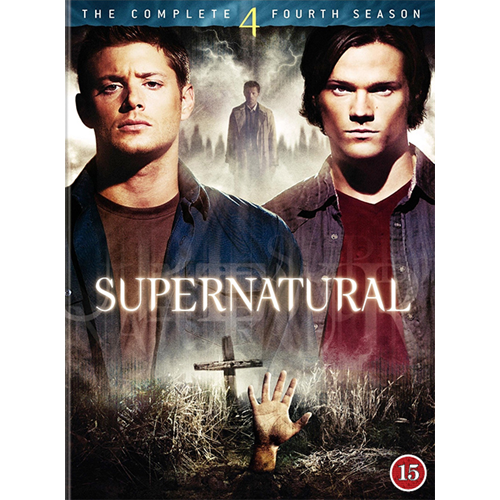 Supernatural - Sesong 4 (DVD)