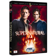 Supernatural - Sesong 5 (DVD)