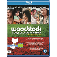 Woodstock - The Ultimate Edition (UK-import) (BLU-RAY)