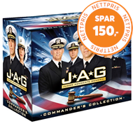 Produktbilde for J.A.G. - The Complete Collection (DK-import) (DVD)