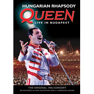 Queen - Hungarian Rhapsody - Live In Budapest (DVD)