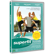Superfit På 40 Min. (DVD)