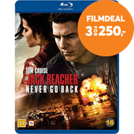 Produktbilde for Jack Reacher 2 - Vend Aldri Tilbake (BLU-RAY)