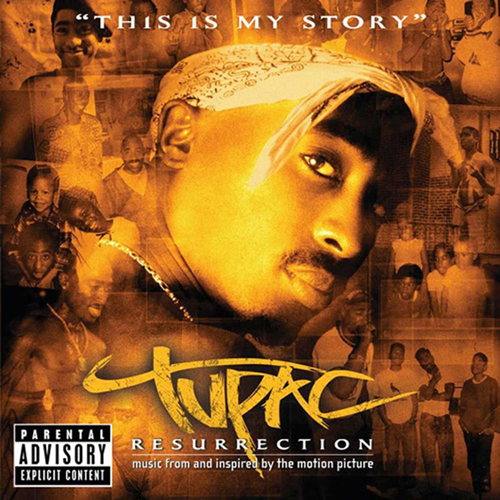 Tupac Resurrection - Original Soundtrack (CD)