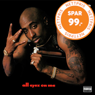 Produktbilde for All Eyez On Me (VINYL - 2LP)