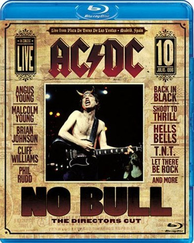 AC/DC - No Bull: The Director's Cut (BLU-RAY)
