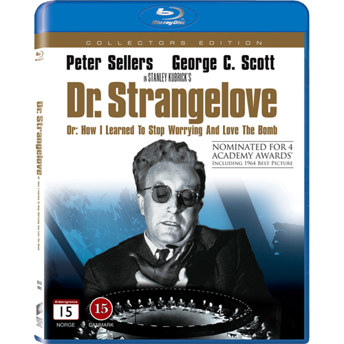 Dr. Strangelove - Or: How I Learned To Stop Worrying And Love The Bomb (BLU-RAY)