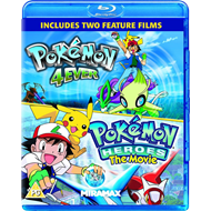 Pokemon 4ever / Pokemon Heroes (UK-import) (BLU-RAY)