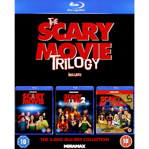 The Scary Movie Trilogy (UK-import) (BLU-RAY)