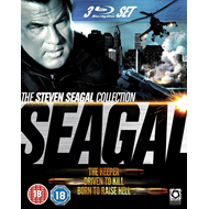 The Steven Seagal Collection (UK-import) (BLU-RAY)