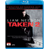 Taken 2 - Unrated Extended Cut (BLU-RAY)