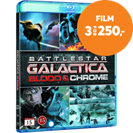 Produktbilde for Battlestar Galactica - Blood And Chrome (BLU-RAY)
