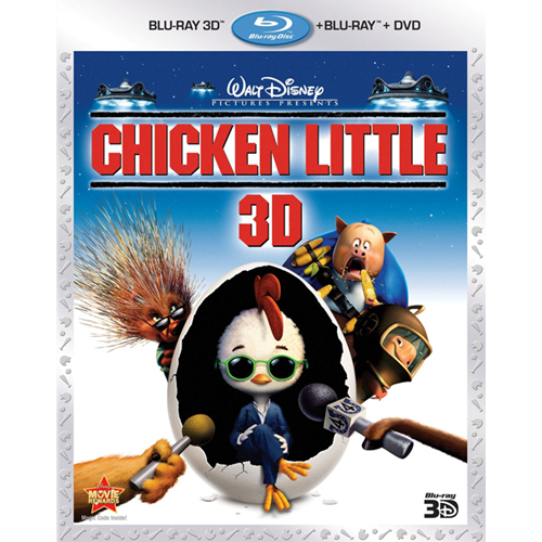 Chicken Little (Import) (Blu-ray 3D + Blu-ray)