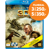 Produktbilde for Clash Of The Titans (Blu-ray 3D + Blu-ray)