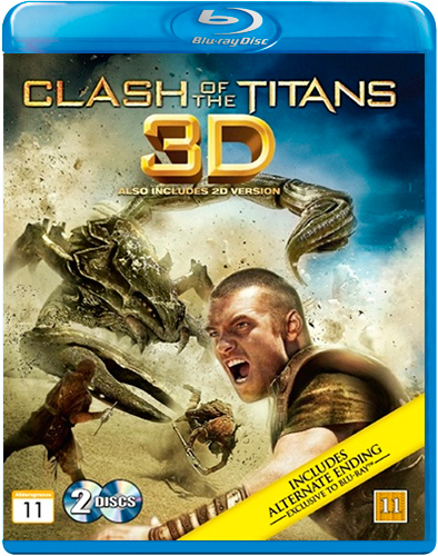 Clash Of The Titans (Blu-ray 3D + Blu-ray)