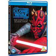 Star Wars - The Clone Wars - Sesong 4 (UK-import) (BLU-RAY)