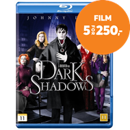 Produktbilde for Dark Shadows (BLU-RAY)