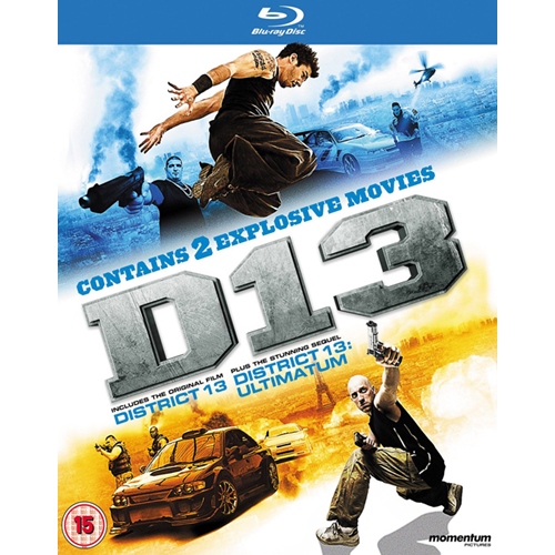 District 13 / District 13 Ultimatum (UK-import) (BLU-RAY)
