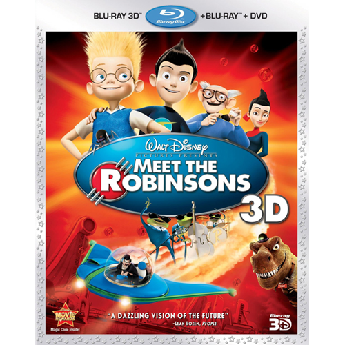 Meet The Robinsons (Blu-ray 3D + Blu-ray)