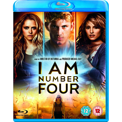 I Am Number Four (UK-import) (BLU-RAY)