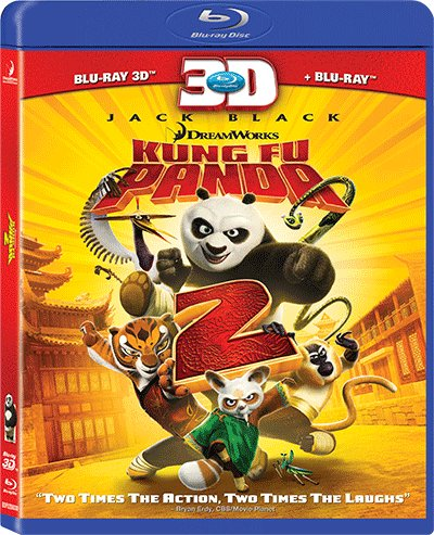 Kung Fu Panda 2 (UK-import) (Blu-ray 3D + Blu-ray + DVD)