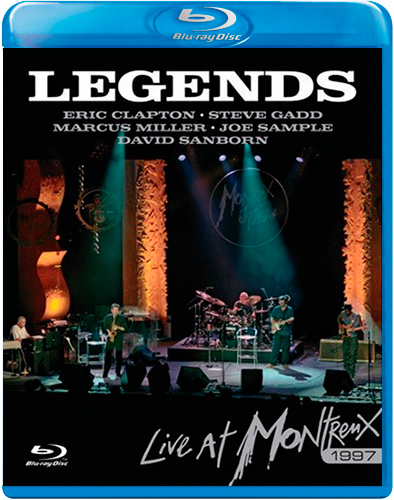 Legends Live At Montreux 1997 (UK-import) (BLU-RAY)