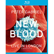 Peter Gabriel - New Blood Live In London (UK-import) (Blu-ray 3D + Blu-ray + DVD)