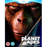 Planet Of The Apes Collection (UK-import) (BLU-RAY)