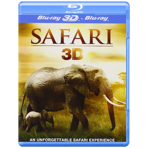 Safari (UK-import) (Blu-ray 3D)