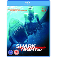 Shark Night (UK-import) (Blu-ray 3D + Blu-ray)