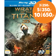 Produktbilde for Wrath Of The Titans (Blu-ray 3D + Blu-ray)