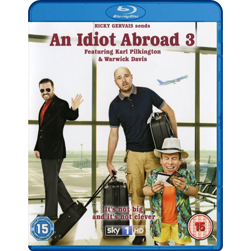 An Idiot Abroad 3 (UK-import) (BLU-RAY)