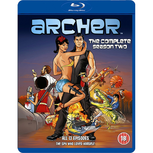 Archer - Sesong 2 (UK-import) (BLU-RAY)